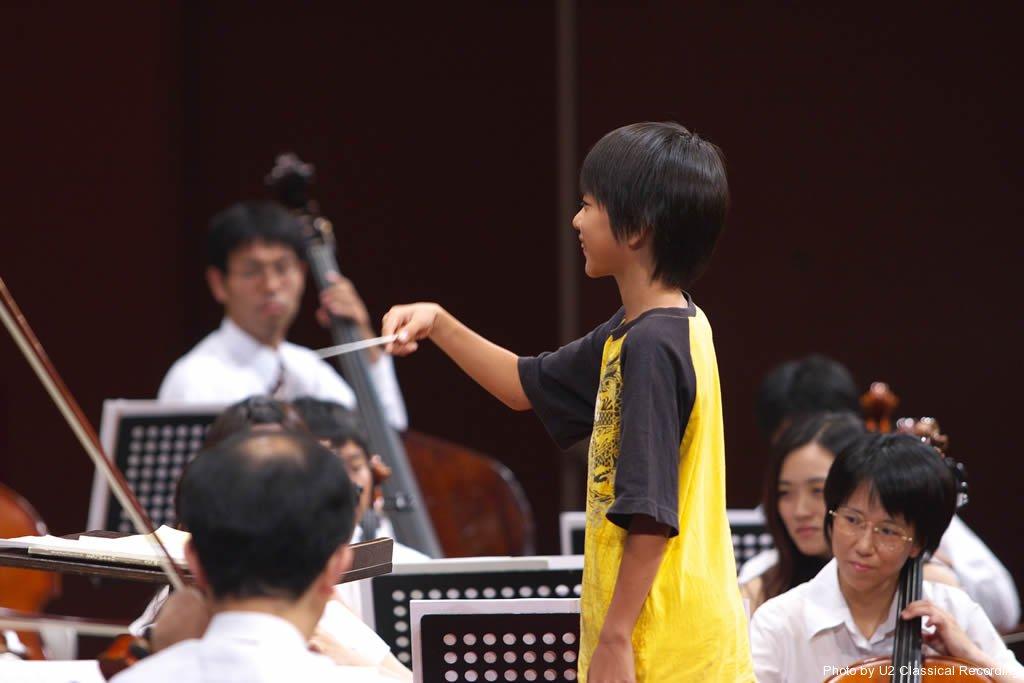 指揮者体験コーナー